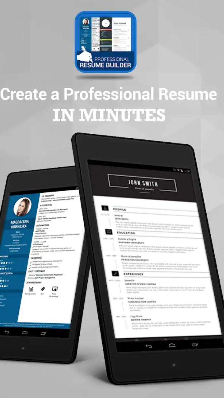 professional resume maker  u0026 cv builder