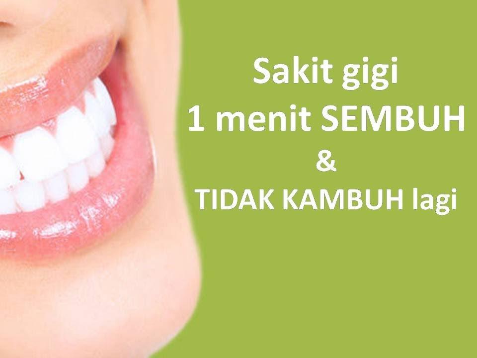 Cara Menyembuhkan Sakit Gigi Itb2c Store