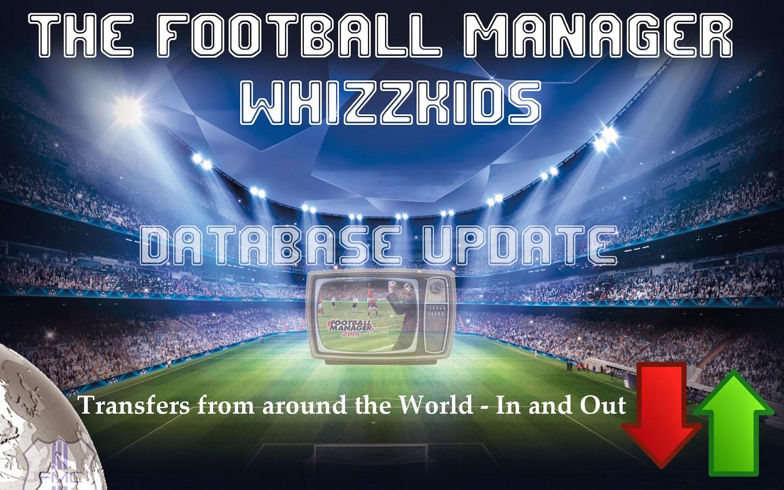 Whizzkids' FM15 Transfer Database Update (23/09/2015)