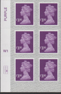 £3 definitive stamp 2019 Walsall printing cylinder block