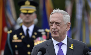 The US Defense Secretary Jim Mattis has resigned after his clash with President Donald Trump over the abrupt withdrawal of U.S. troops from Syria .