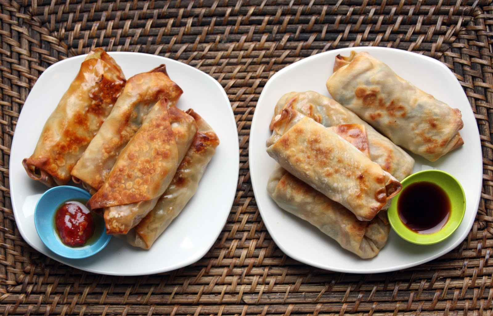 "Food.Love.Happiness: Baked Vegetable ""Egg Rolls"""