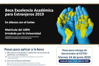 Información beca ICETEX - Maestría en Derecho Internacional (Universidad de La Sabana)