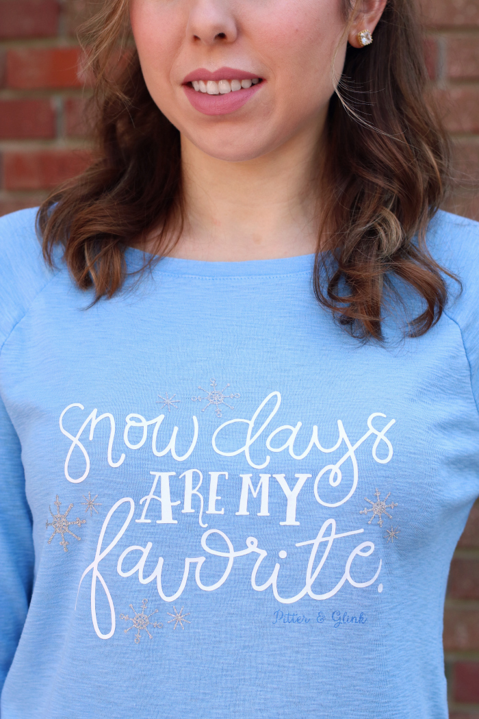 Snow Days Are My Favorite T-shirt