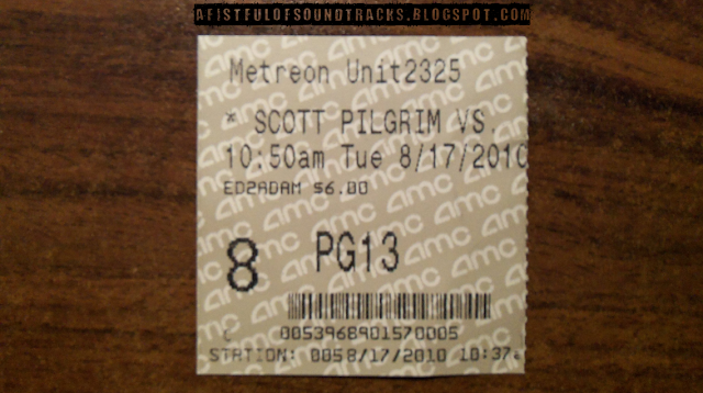 Scott Pilgrim vs. 10:50am didn't contain as much ass-whuppings as I expected.