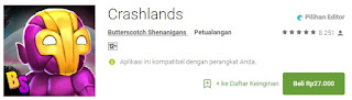 Crashlands Game Android Terbaik