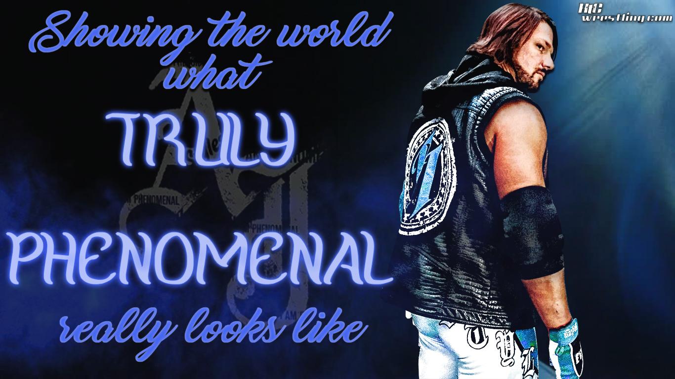 AJ Styles Raw Wrestling Wallpapers