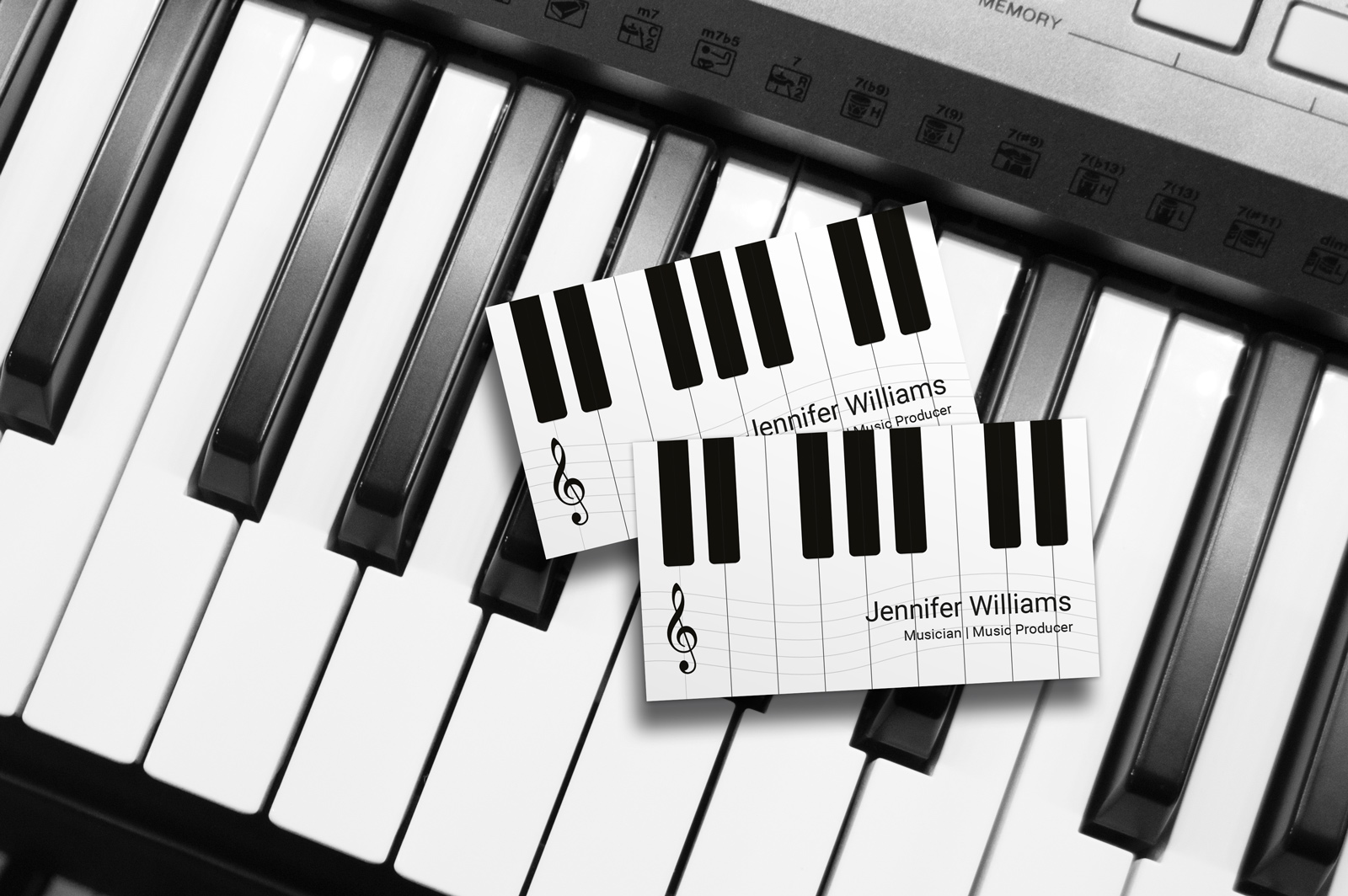 Music business cards business card tips music business cards flashek Images