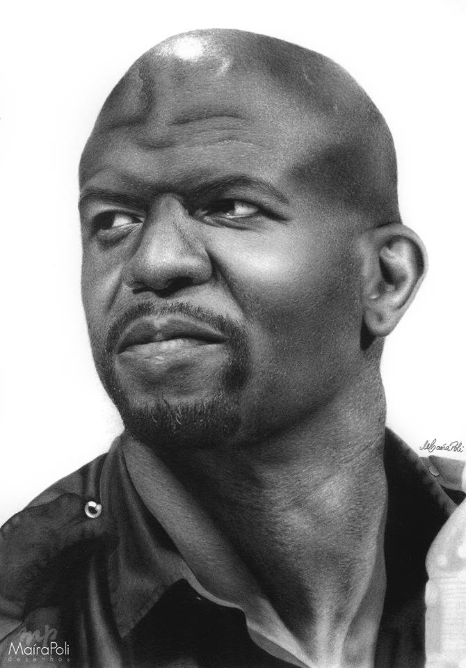 10-Terry-Crews-Maíra-Poli-Mahbopoli-Black-and-White-Realistic-Pencil-Celebrity-Portraits-Drawings-www-designstack-co
