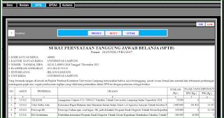 Aplikasi Pembuatan Form SPTB, SPTJM, dan Cetak Kuitansi
