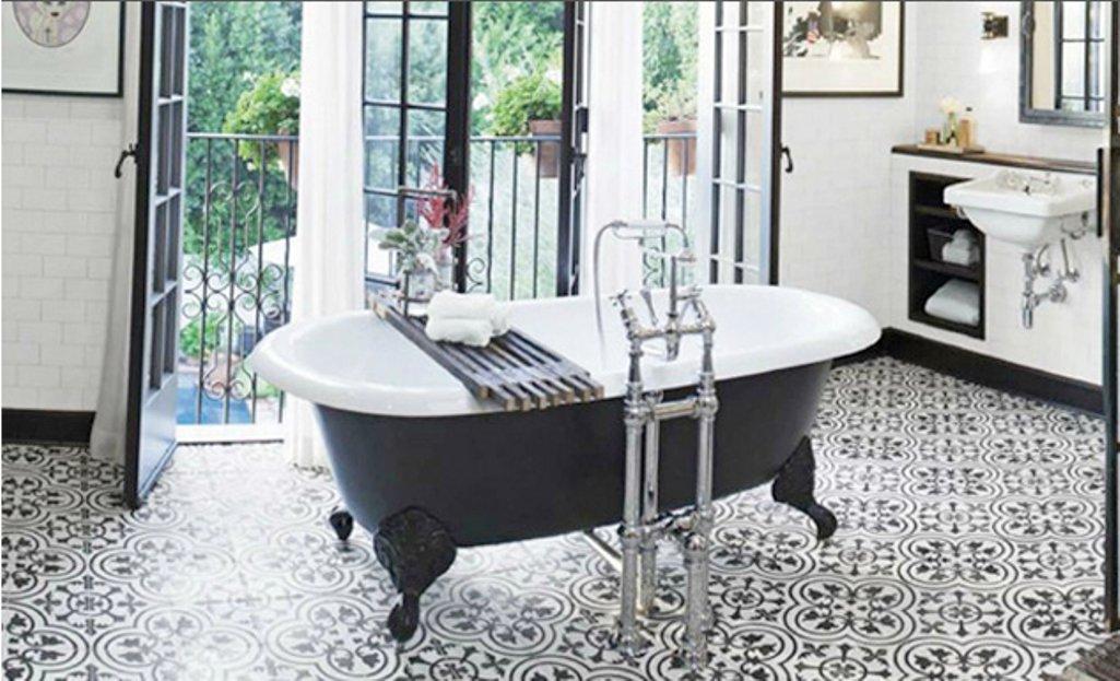 Bathroom Floor Tile - Affordable encaustic tiles