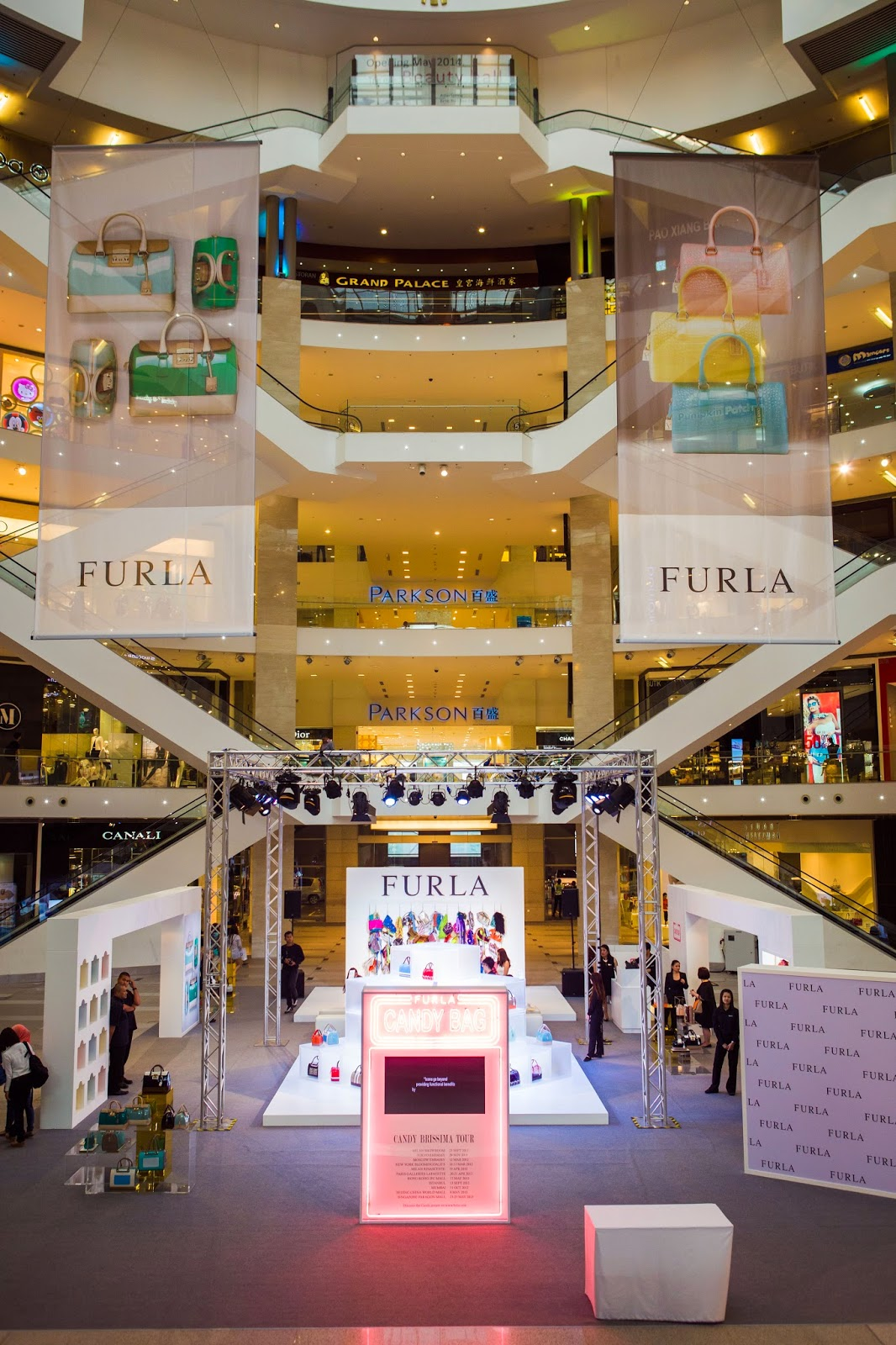 Event Post: Furla's Candy Brissima World Tour