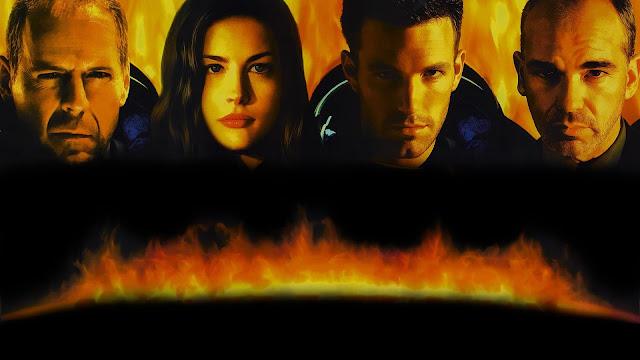 Armageddon, réalisé par Michael Bay (1998), un des plus célèbres poulains de l'écurie Bruckheimer