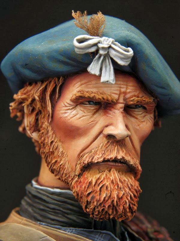 The Beret Project Jacobite Highlanders With Blue Berets