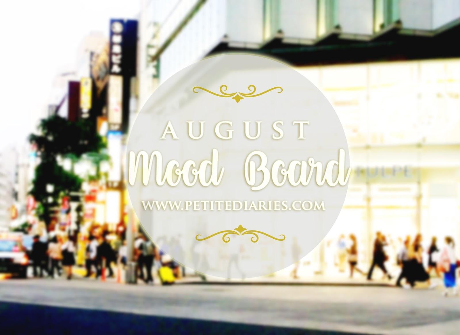 august 2016 moodboard
