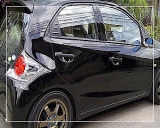 modifikasi ban mobil honda brio