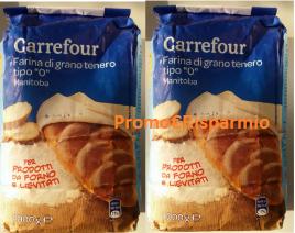 Logo Carrefour Richiamo Prodotto: Farina grano tenero 0 Manitoba