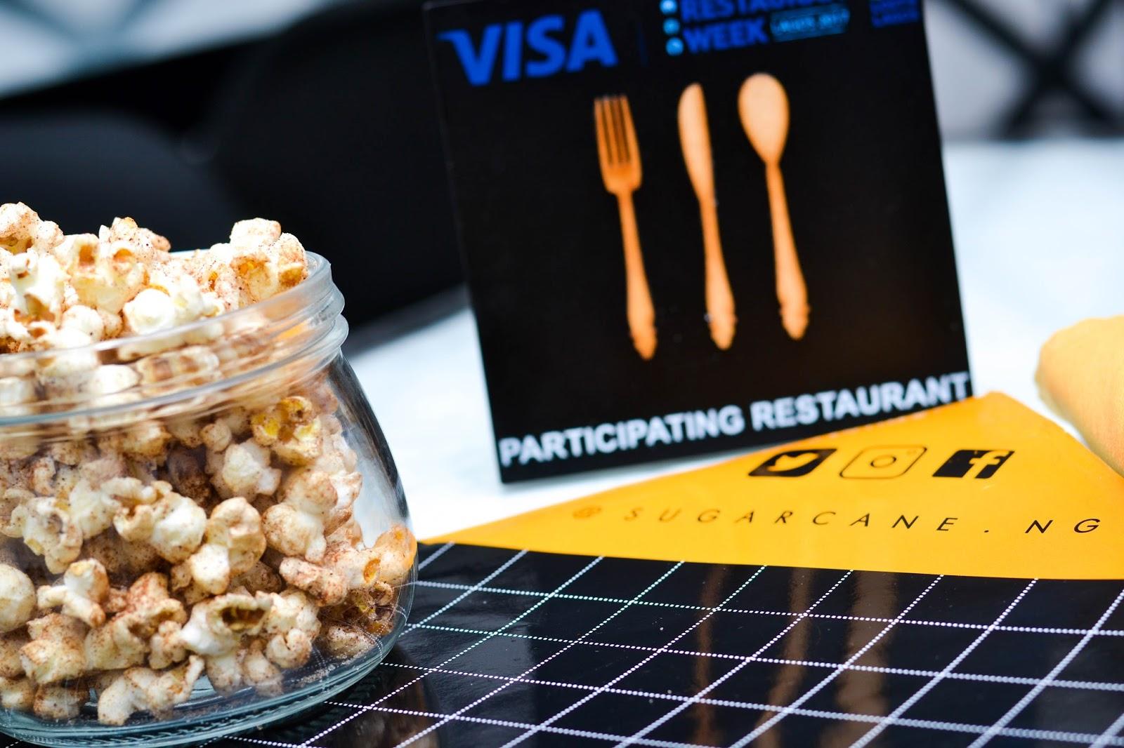 Cinnamon popcorn in Nigeria