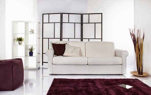 Divani letto con materasso da cm 180x200 tino mariani for Divano letto 180 cm