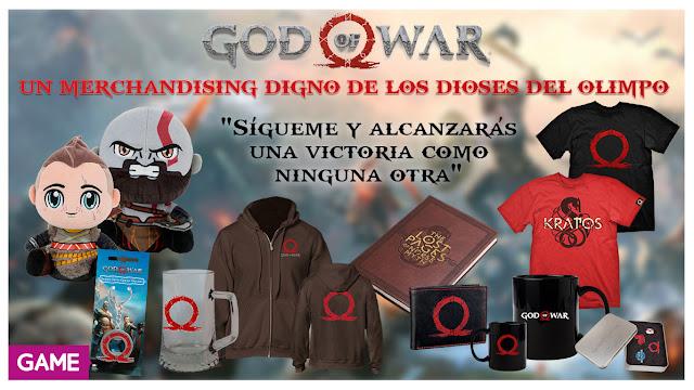 GAME celebra el lanzamiento de God of War con muchos productos y promociones
