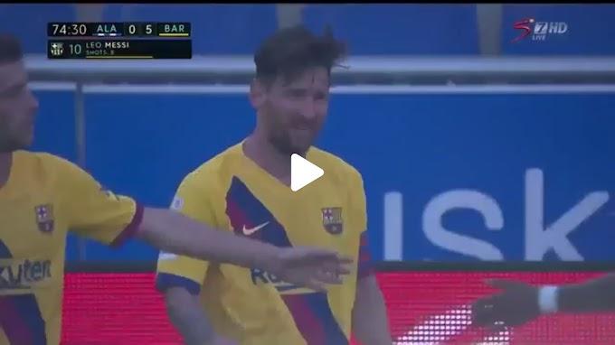 VIDEO: Alaves 0:5 Barcelone / La Liga