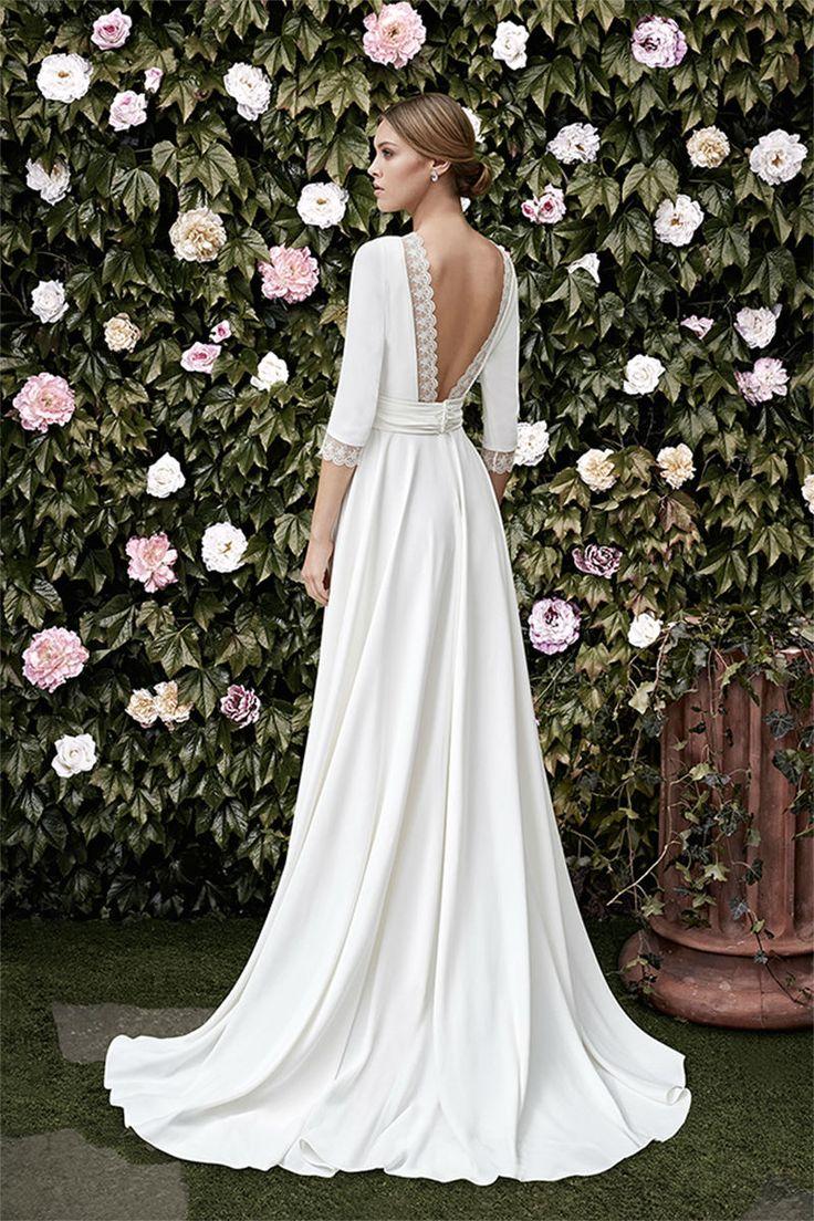 Vestidos de novia elegantes ¡20 FANTÁSTICAS IDEAS CON IMÁGENES ...