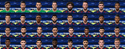 PES 6 Complete Facepack San Lorenzo 2018/2019 by Cuervo96