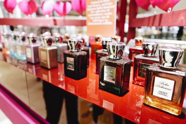 bella bellissima,velvet santal,perfume,selfridges