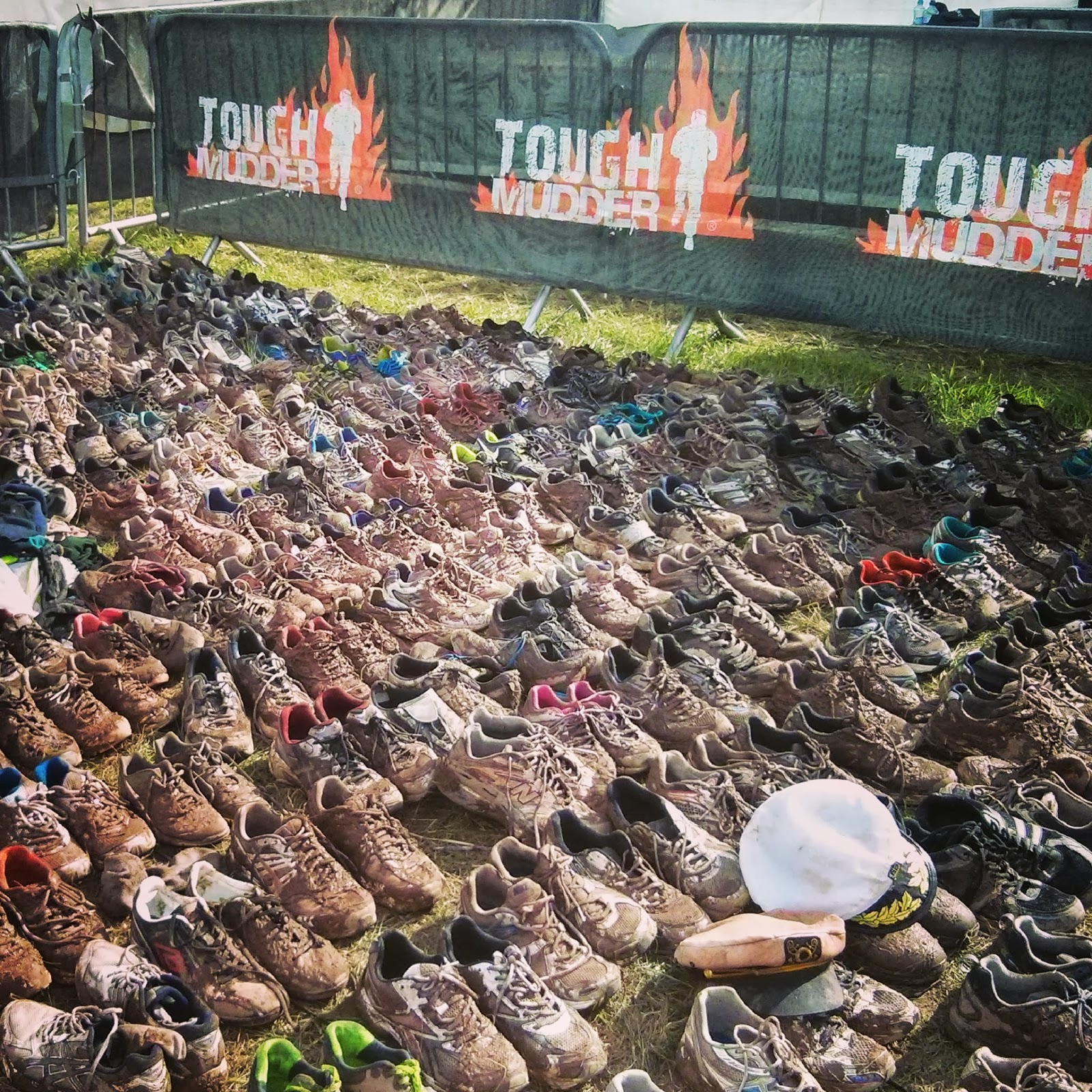 Donate your muddy shoes here