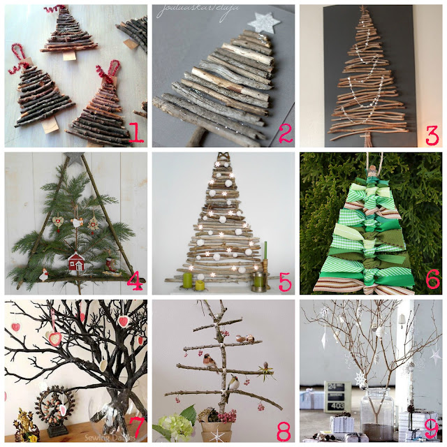 Decorazioni di natale fai da te con i rami secchi for Decorazioni natalizie fai da te
