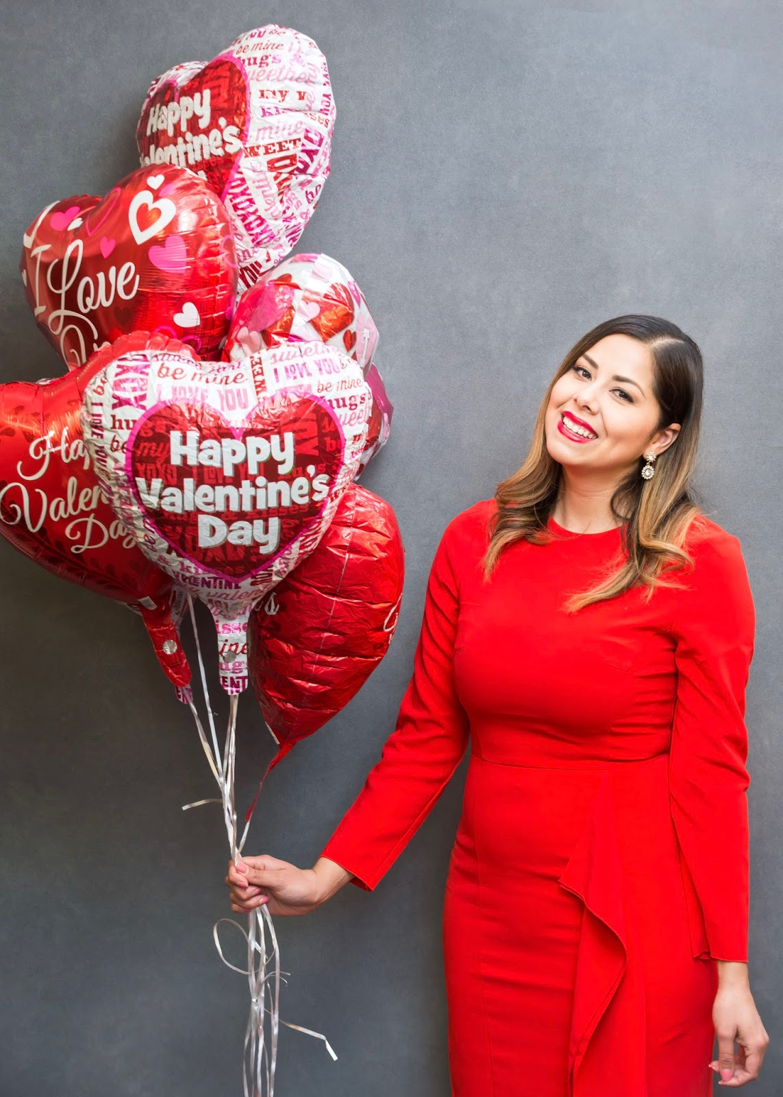 Valentine's Day Outfit, Vday outfit ideas, red dress