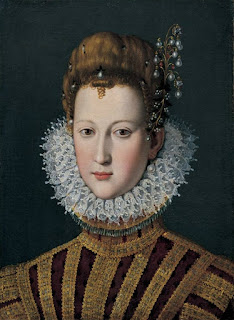 Maria de' Medici became Queen of France with the death of her husband