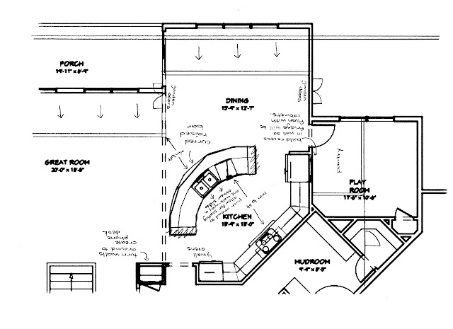 Kitchen Layout Straight Line With Island