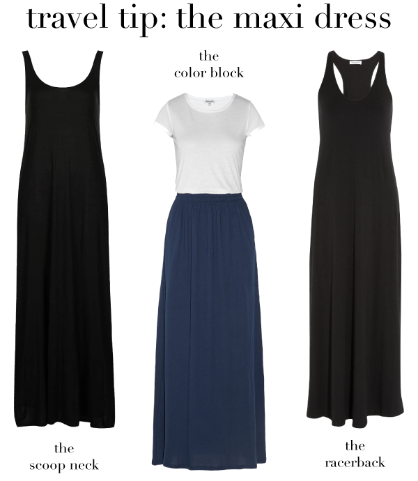 A Maxi Dress for Travle // Style Caddy