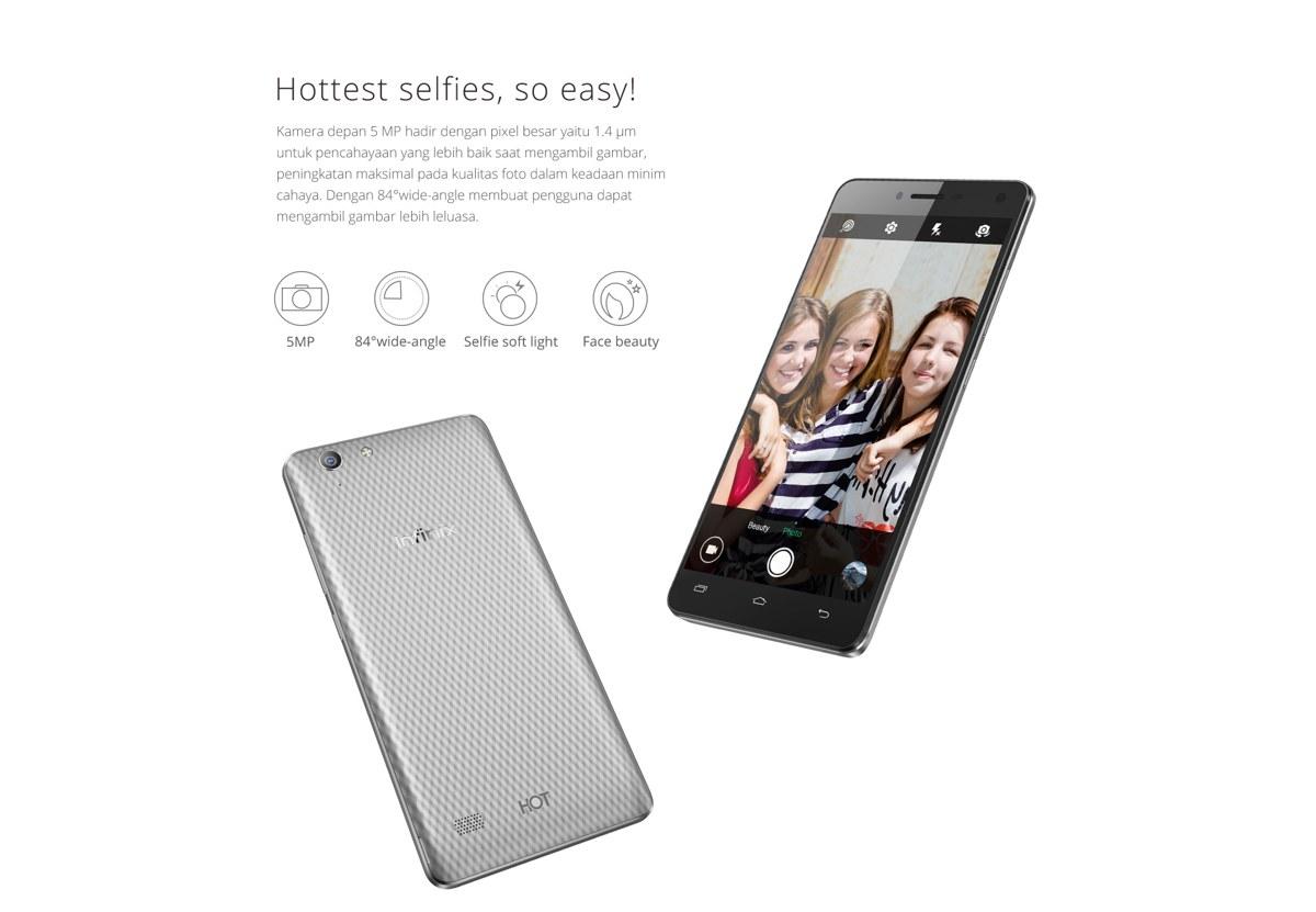 Spesifikasi Infinix X553 HOT 3 4G LTE 16 GB