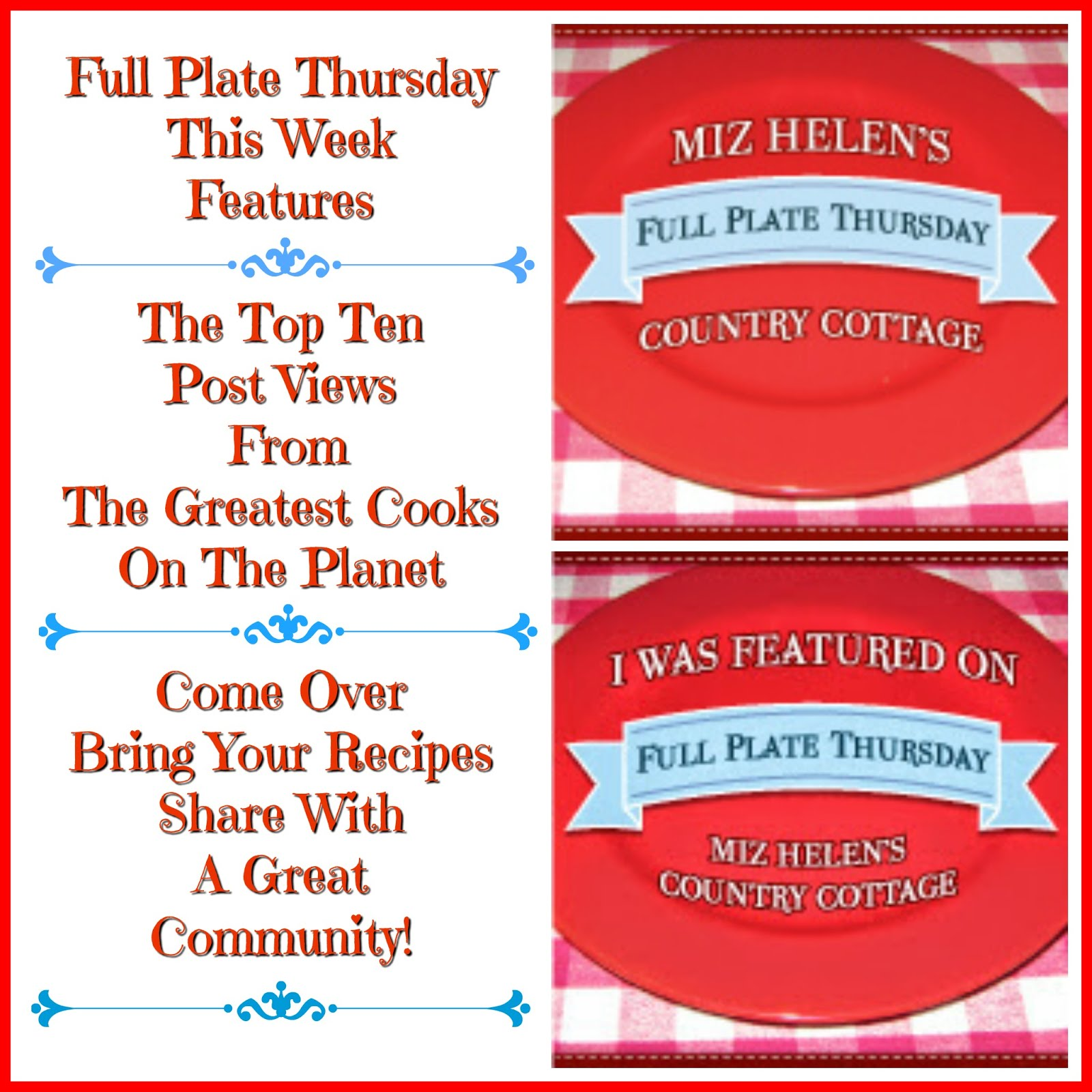 Full Plate Thursday, 508
