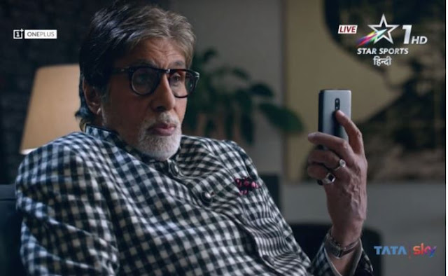 OnePlus 6T Official Teaser Featuring Amitabh Bachchan Out