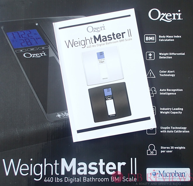 Ozeri WeightMaster II Digital Bathroom BMI Scale