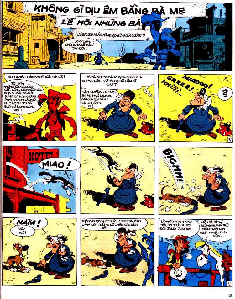 Lucky Luke tap 15 - ma dalton trang 46