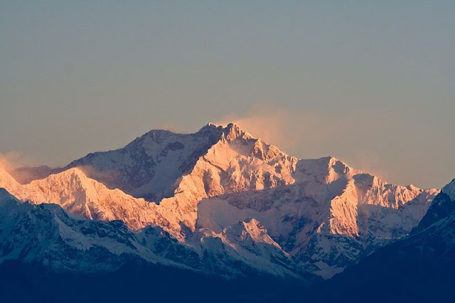 Kanchenjunga is the highest peak in India