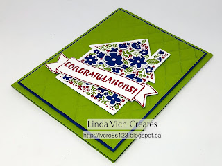 Linda Vich Creates: Home Life For A New Home. A bit of old and a bit of new combine in this new home card made with the Home Life Bundle and new Stampin' Up colors!