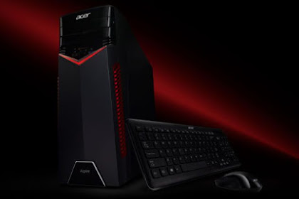 ASPIRE GX-281 PC DESKTOP GAMING BERTENAGA PROCESSOR AMD RYZEN