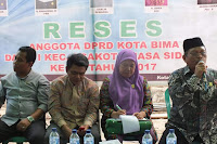 Reses Dewan Dapil-1 Asakota, Mencuat Usulan Pembebasan Lahan Tutupan Negara