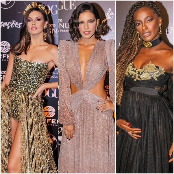 Looks do Baile da Vogue 2019 camila queiroz mariana rios