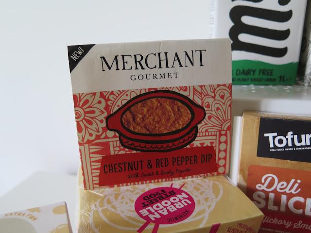 Merchant gourmet, vegan, chestnut dip