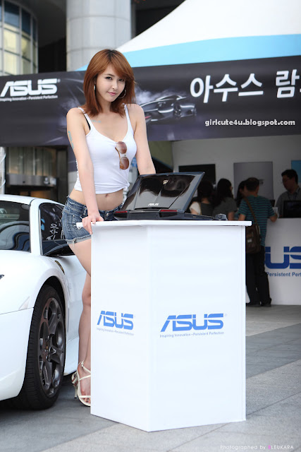 21 Kang Yui-ASUS Lamborghini VX7 Roadshow-very cute asian girl-girlcute4u.blogspot.com