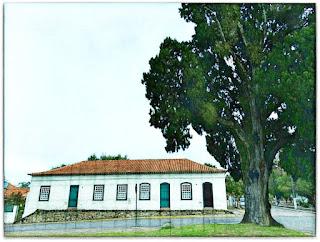 Cipreste Farroupilha e Casa Gomes Jardim - Guaíba