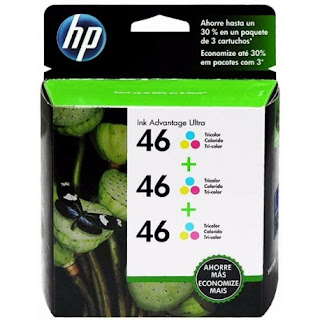 Cartuchos de tinta Tri-pack HP Ultra Advantage