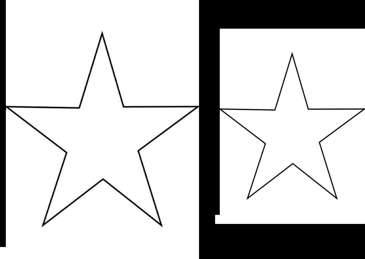 Excepcional Plantilla Estrella Grande Imprimible Patrón - Ejemplo De ...
