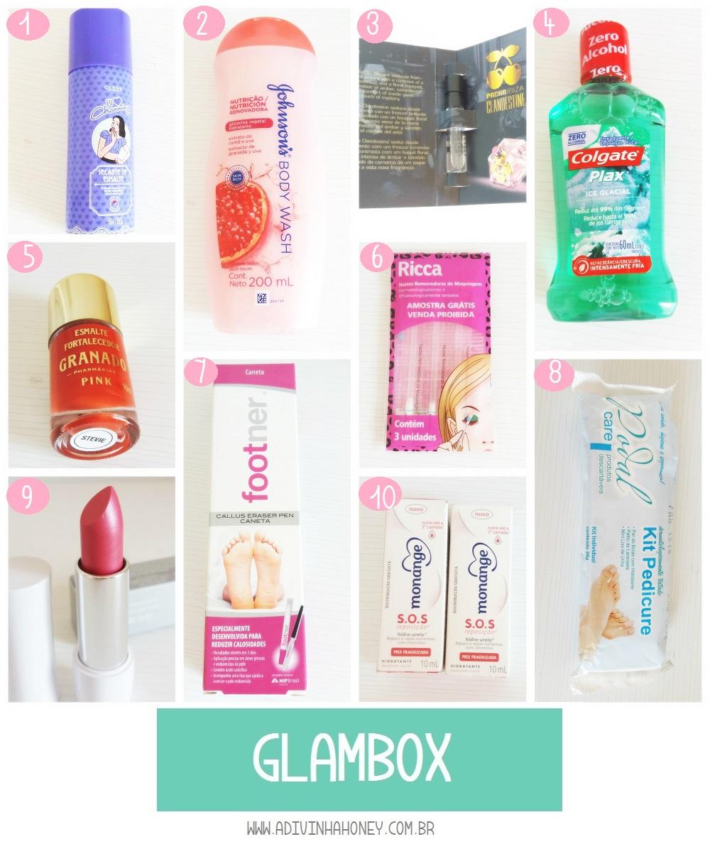 Glambox fevereiro necessaire